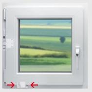 Zaključavanje prozora DENI Safeline-1