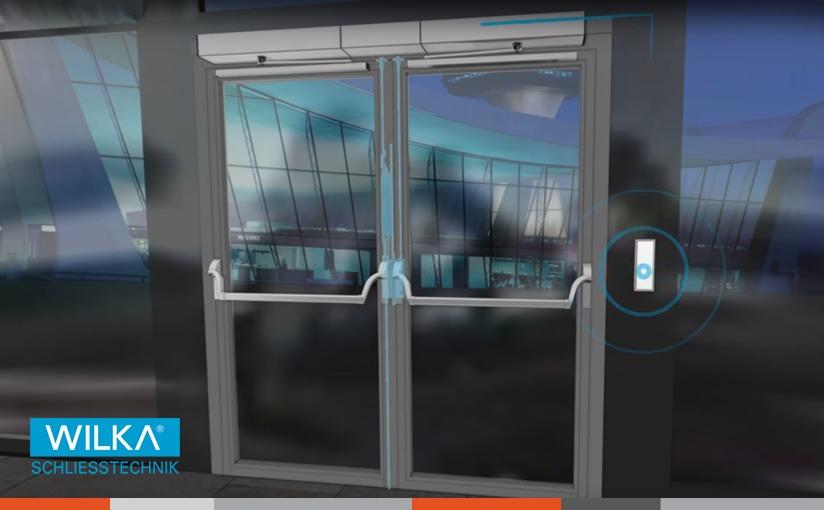 Motorizirana rješenja za dvokrilna PANIC vrata