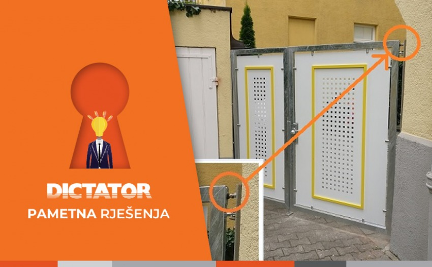 Prilazna vrata se sama zatvaraju - ali kako?